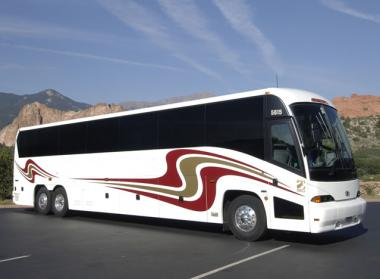 Salem 50 Passenger Charter Bus